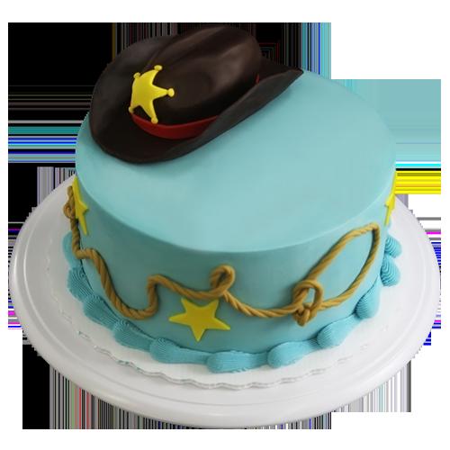 sheriff cake