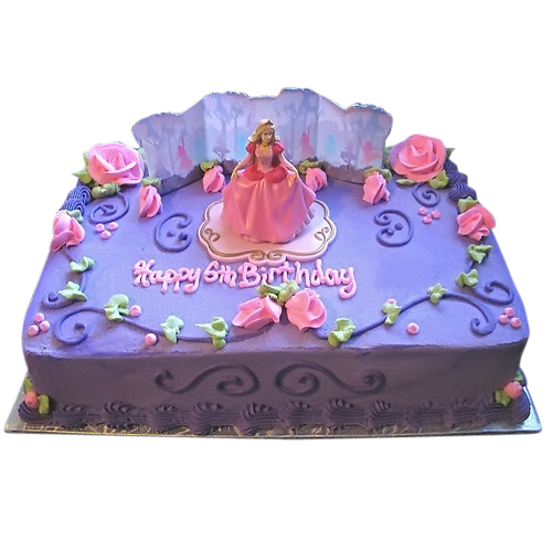 how to make a disney princess birthday cake