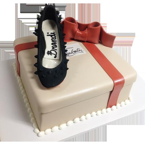 Custom Shoe Cake