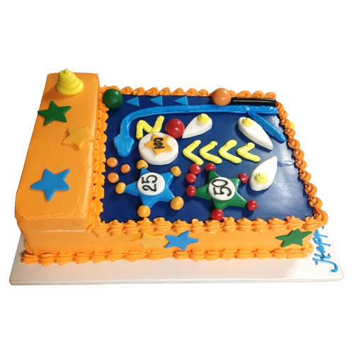 Foosball cake