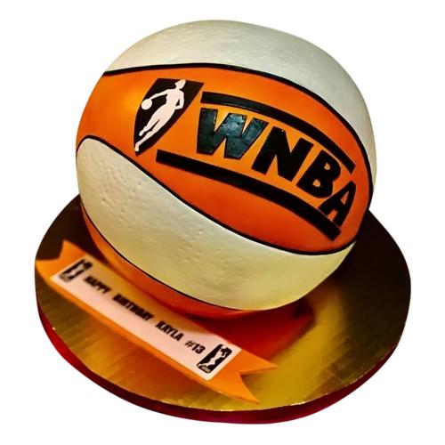 WNBA Ball Cake