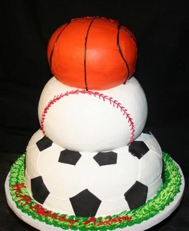 Ball Sports cake