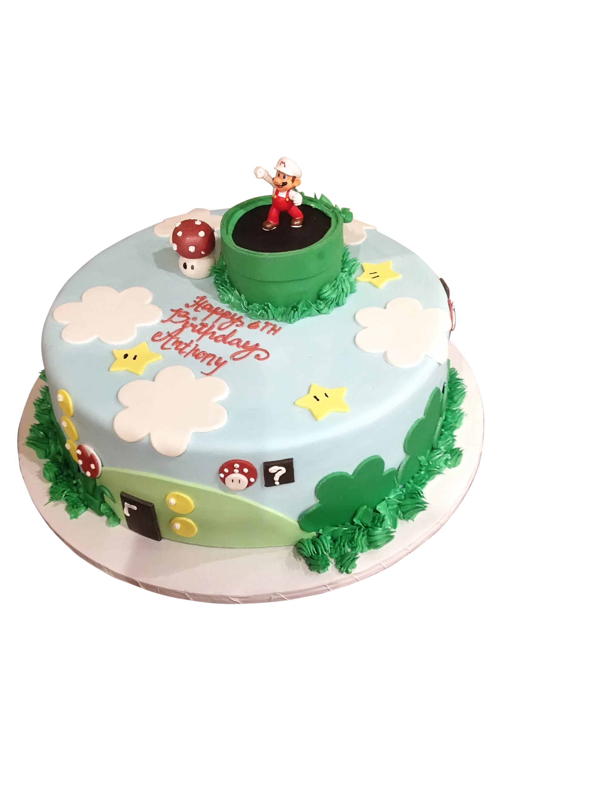 round birthday cakes