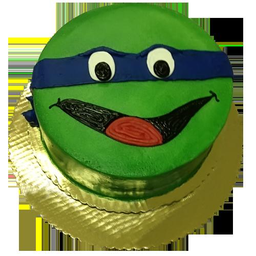 Prime Leonardo Cake Teenage Mutant Ninja Turtles Birthday Cake Funny Birthday Cards Online Elaedamsfinfo