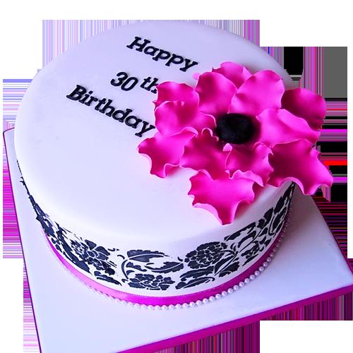 30th birthday cakes ideas