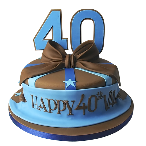 40 birthday cake ideas