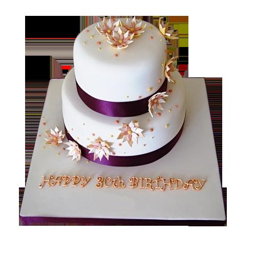 30th birthday cakes for ladies