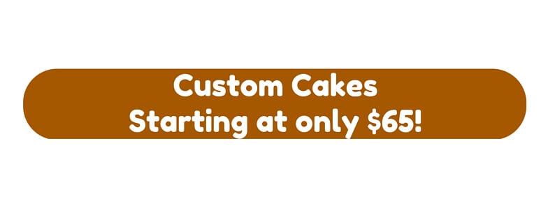 Cheap Custom Cakes