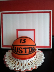 Backboard Cake