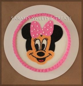 Buttercream Minnie Cake