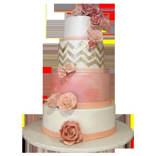 Round Fondant Cake