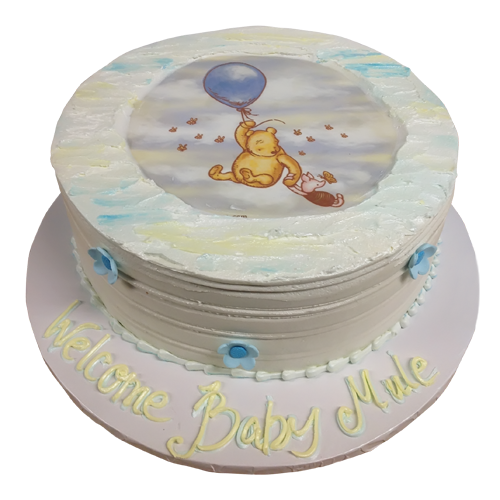 Simple Winnie The Pooh Cake