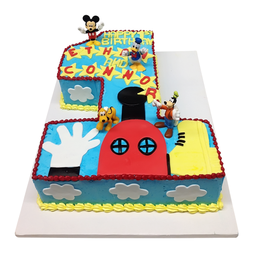 Disney design cake