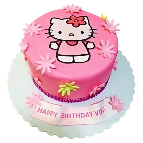 Hello Kitty Birthday Cake 2