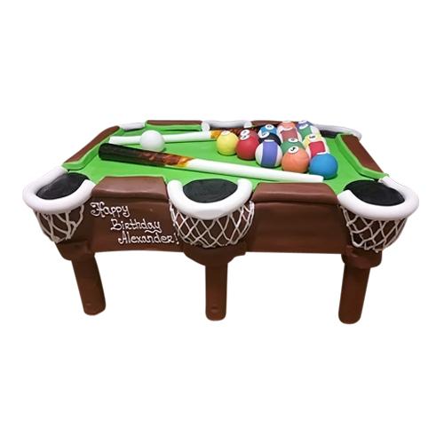 Billiards Table Cake